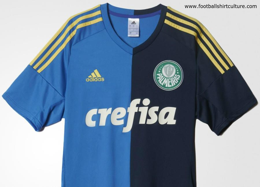 Palmeiras 16 17 Adidas Third Football Shirt 8061c10313874