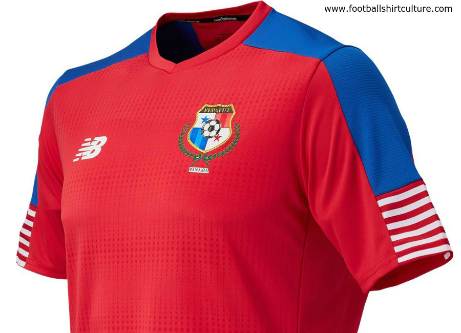 Panama 2016 2017 New Balance Home Shirt