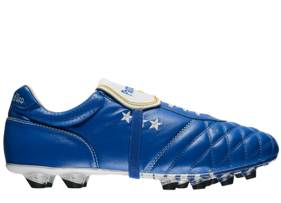 Pantofola D Oro Emidio Italia Fg Royal Blue White Gold