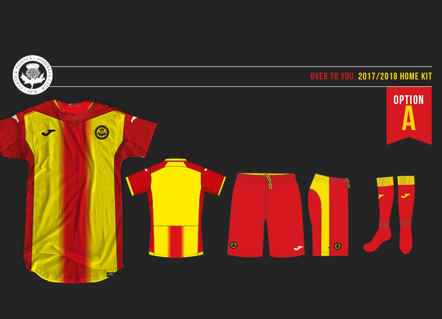 Partick Thistle 17 18 Joma Home Kit Vote