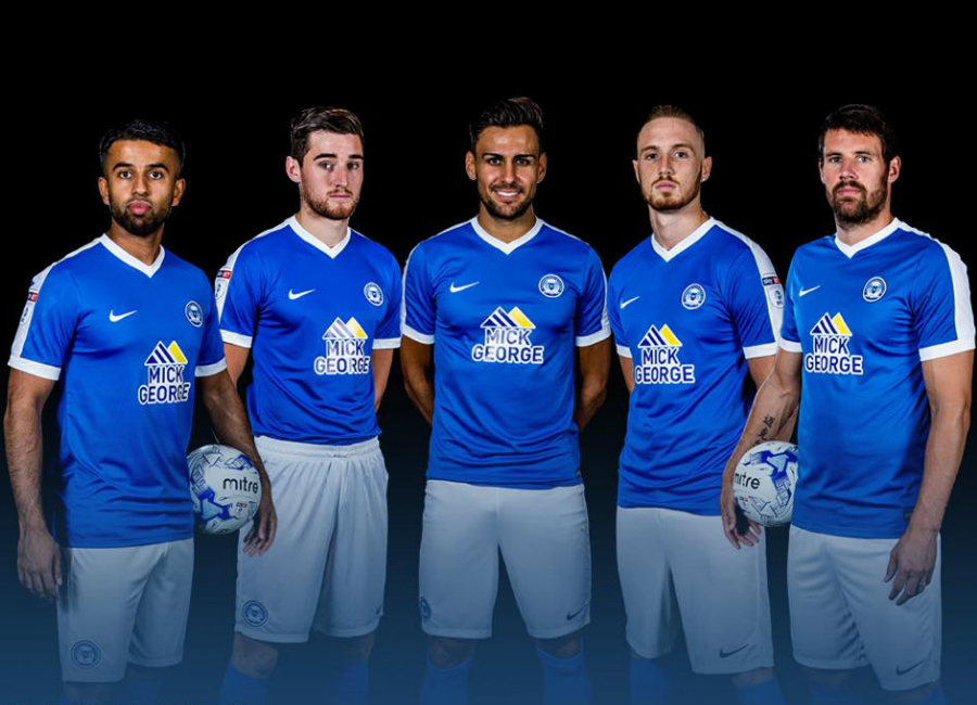 Peterborough United 2016-17 Home Kit Photoshoot - Behind the Scenes