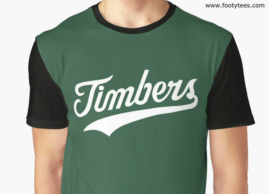 Portland Timbers 1980 Away T Shirt