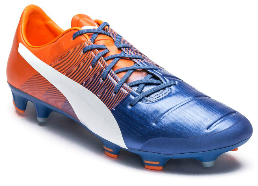 Puma Evopower 1 3 Fg Blue Yonder Puma White Shocking Orange