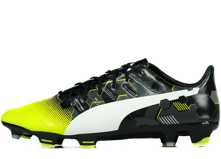 30685ad32f6d Puma evoPOWER 1.3 Graphic FG - Safety Yellow   White   Black ...