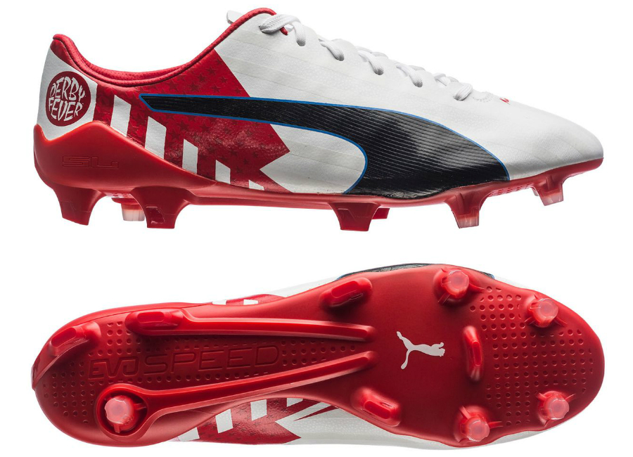 Puma Evospeed 17 Sl S Fg Derby Fever Griezmann High Risk Red Puma White