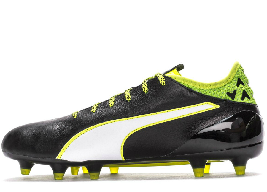 Puma Evotouch 1 Fg Black White Safety Yellow
