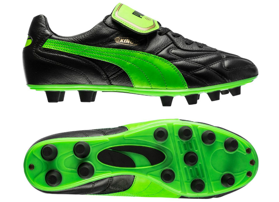 Puma King Top Made In Italy Black Green