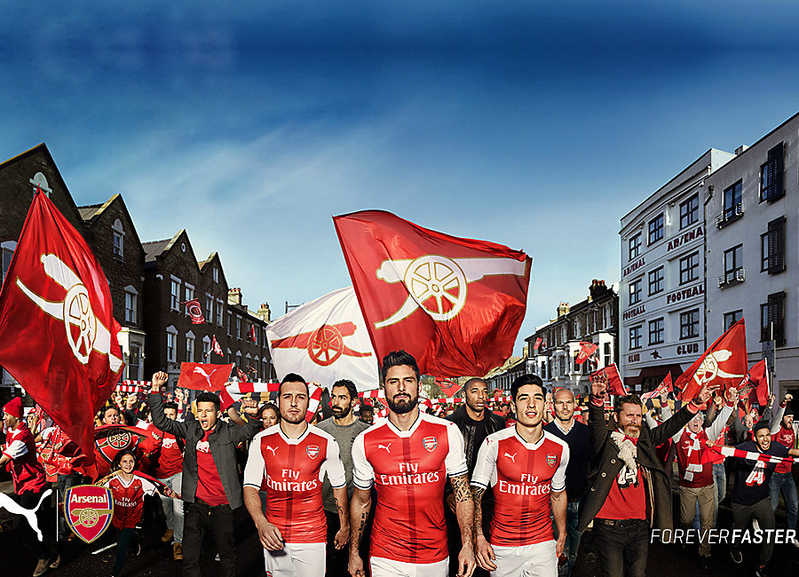 Puma x Arsenal - We Are The Arsenal