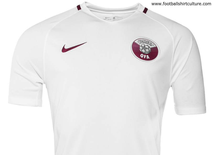 Qatar 2017 Nike Away Football Shirt