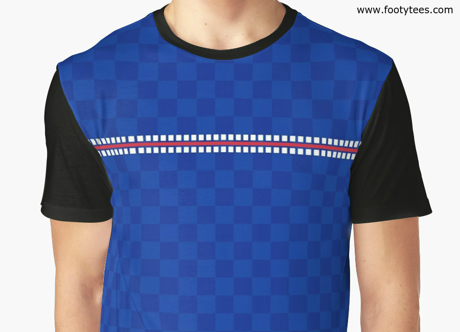 Rangers 1987 Home T Shirt