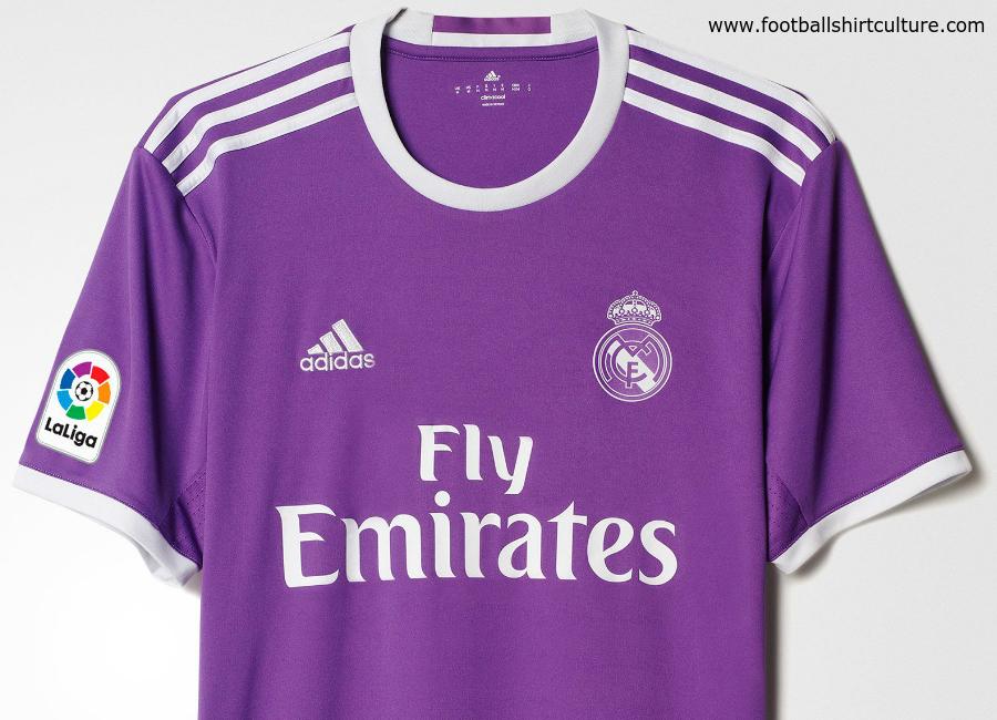 best website 47bd0 16f2a Real Madrid 16/17 Adidas Away Kit | 16/17 Kits | Football ...