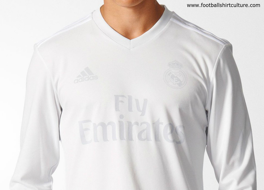 5dc17161680 Real Madrid 16 17 Adidas Parley Kit
