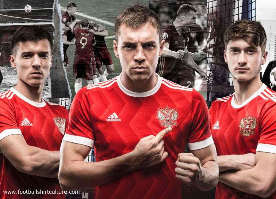 Russia 2017 Confederations Cup Adidas Home Kit