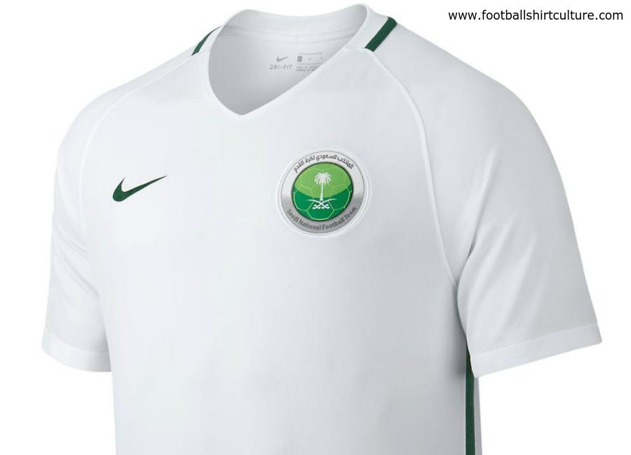 new arrival 07024 84d29 Saudi Arabia 2017 Nike Home Football Shirt | 16/17 Kits ...
