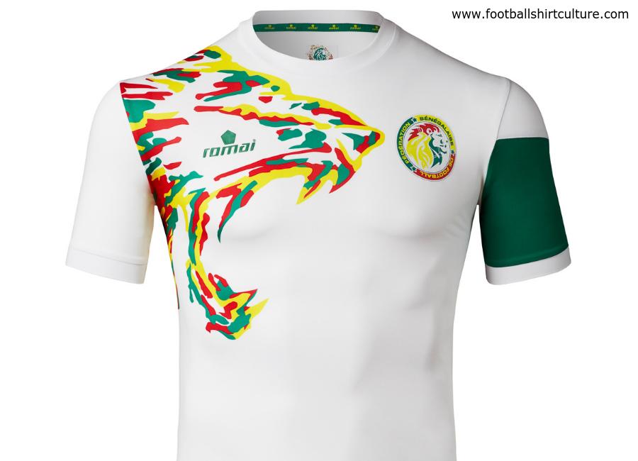 80df7ddaf Senegal 2017 Romai Home Kit