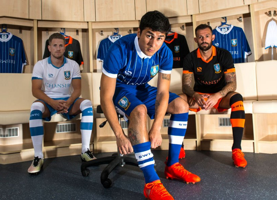 Sheffield Wednesday 2016/17 kit reveal - Behind the scenes