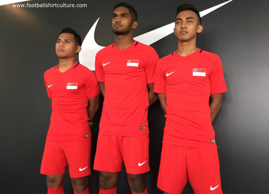 Singapore 2016 2018 Nike Home Away Kits