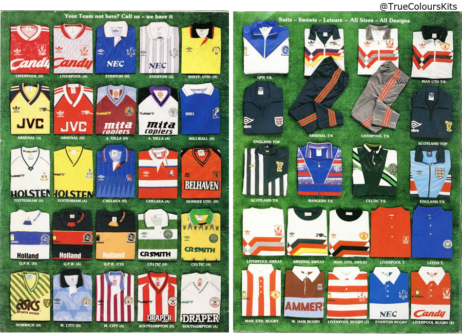 Soccer Scene Catalogue From 1989 90
