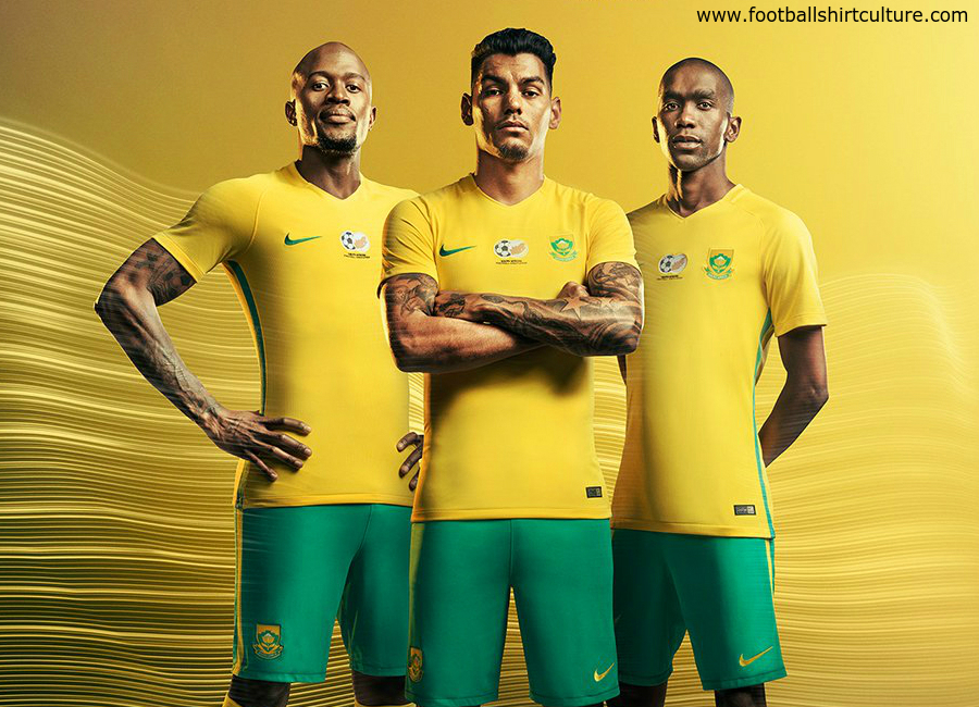 South Africa 2017 Nike Home Kit