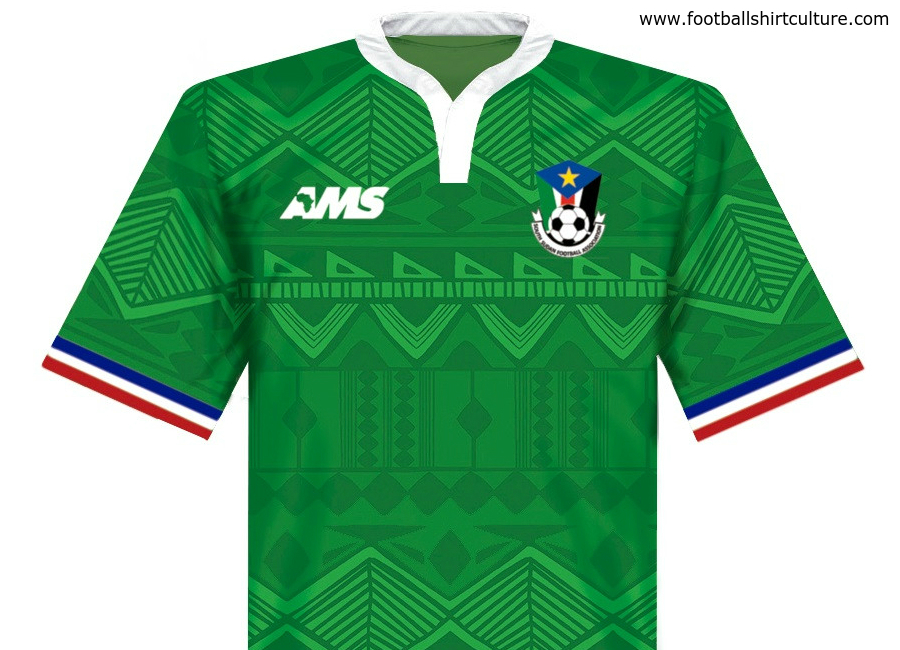 South Sudan 2016 2017 Ams Away Shirt