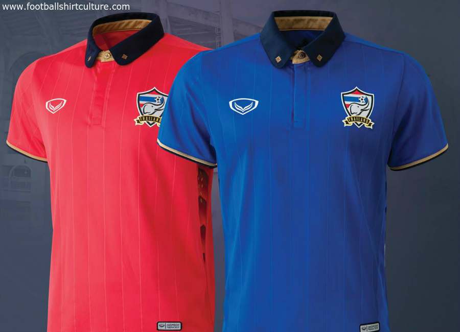 Thailand 2016 Grand Sport Home Away Kits