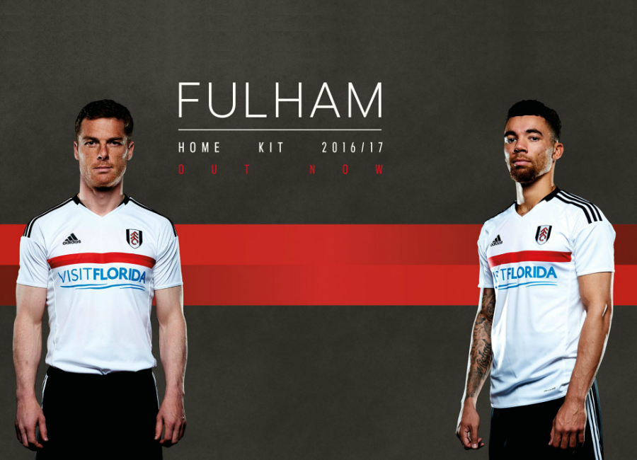 The All New Fulham Home Kit For The 2016/17 Campaign