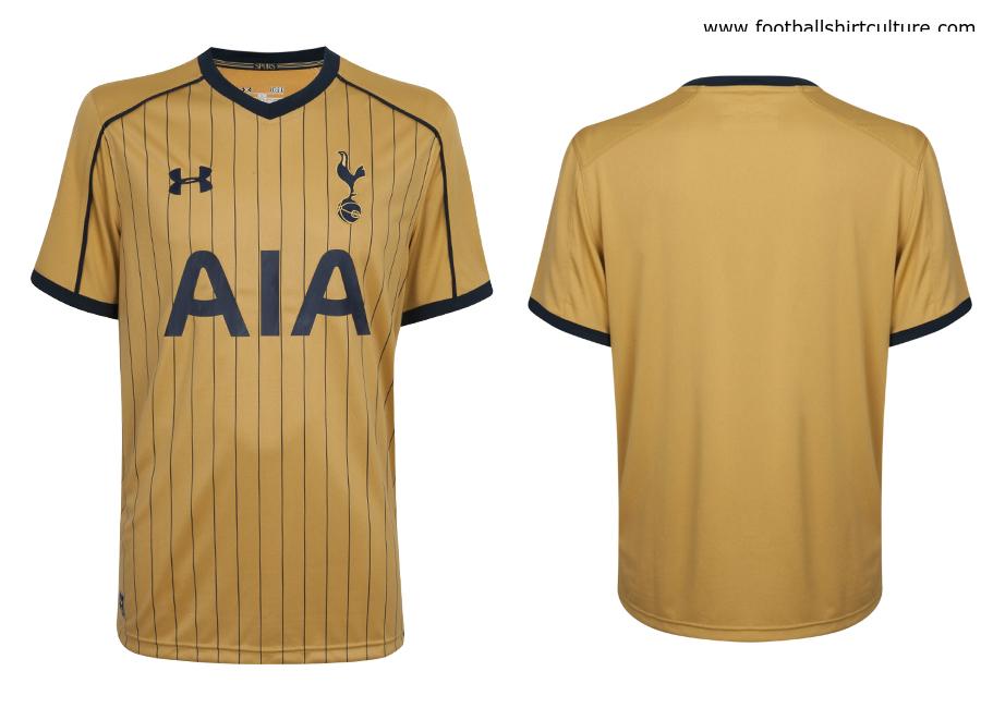 brand new 6dae1 1199b Tottenham Hotspur 16/17 Under Armour Third Kit   16/17 Kits ...