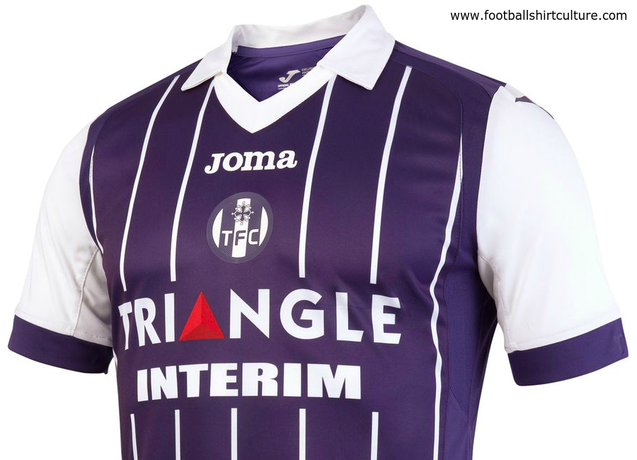 Toulouse 2016 17 Joma Home Kit