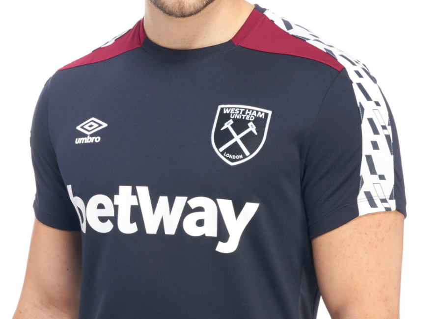 detailed pictures 484c3 451e0 Umbro West Ham United 2016/17 Training Jersey - Galaxy ...