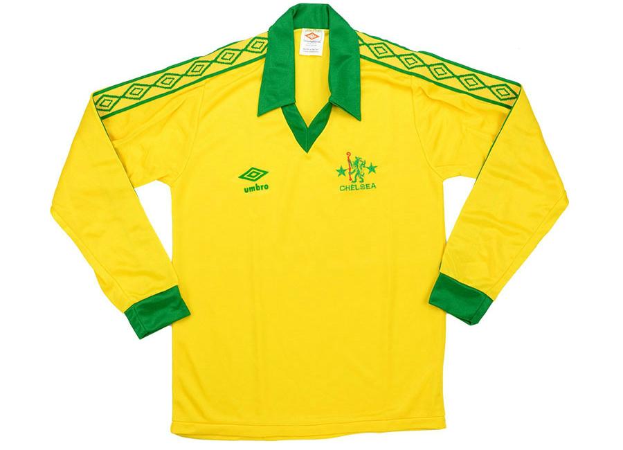 the best attitude 3e2bb 692b9 Umbro 1978-81 Chelsea Away Shirt | Vintage Football Shirts ...