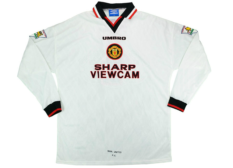 best service c41b0 35446 Umbro 1996-97 Manchester United Match Issue Away Shirt ...