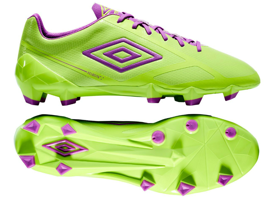 Umbro Velocita Ii Pro Hg Lime Green Purple Cactus