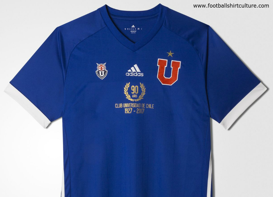 Universidad De Chile 90th Anniversary Home Shirt