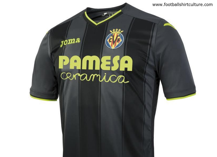 Villarreal 2016 2017 Joma Away Shirt