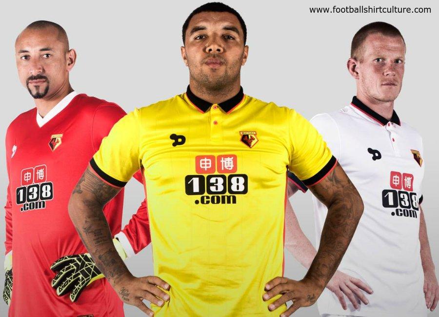 Watford 2016-17 Kits Photoshoot - Behind the Scenes