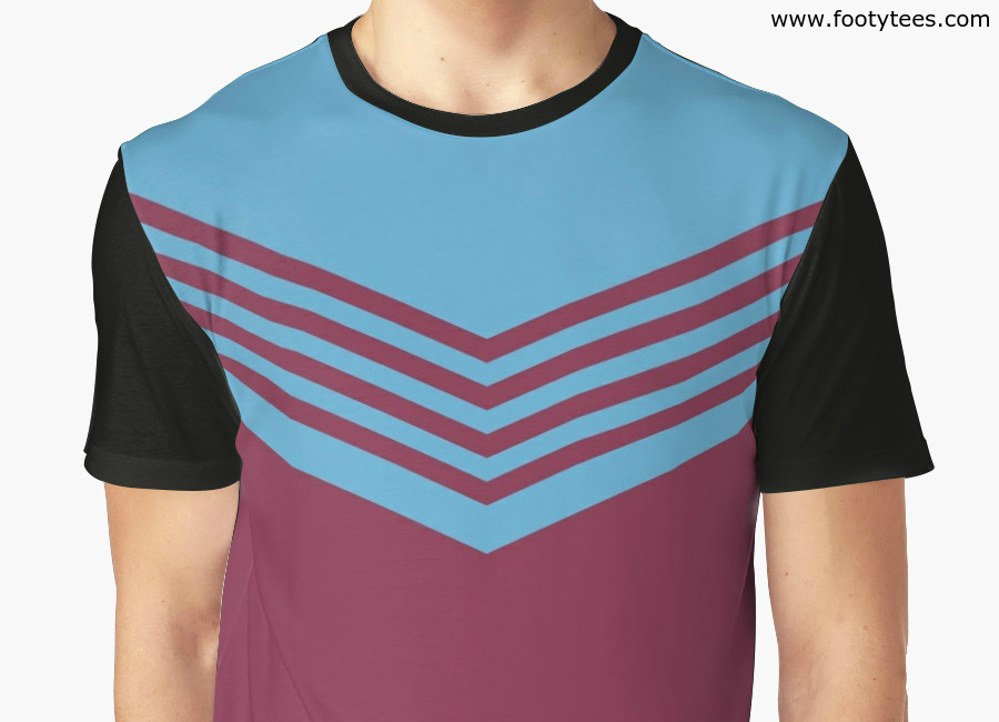 West Ham United 1976 Home T Shirt
