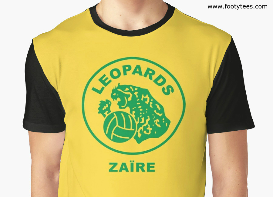 Zaire Wc 1974 Home T Shirt