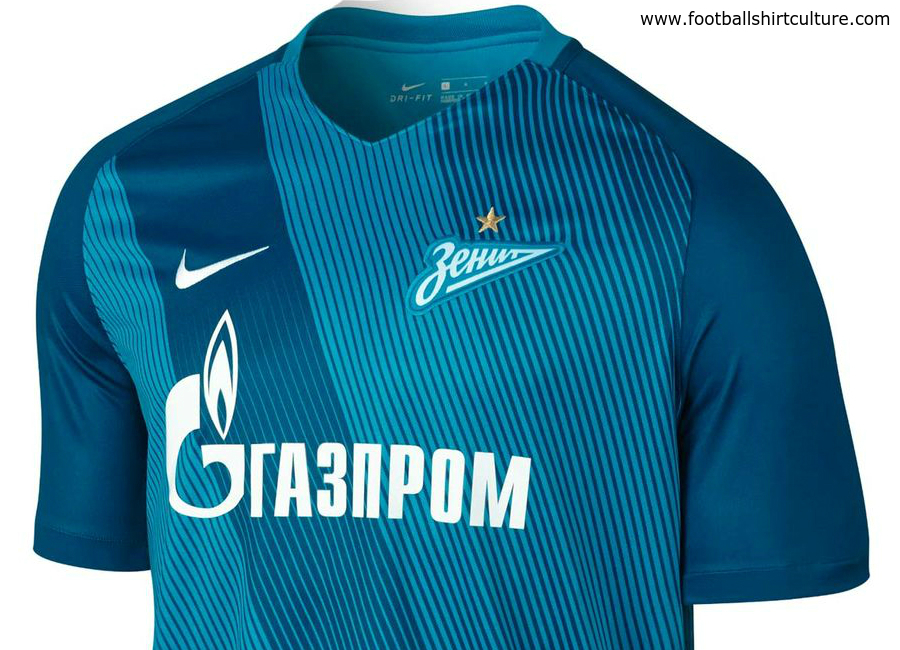Zenit St Petersburg 2016 17 Nike Home Shirt