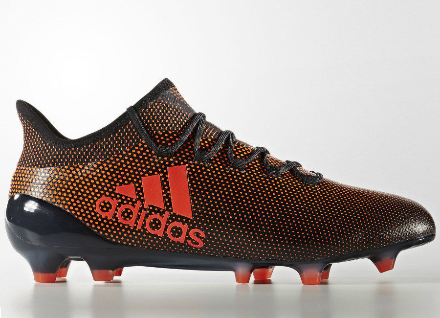 Adidas 17 1 Fg Pyro Storm Core Black Solar Red Solar Orange