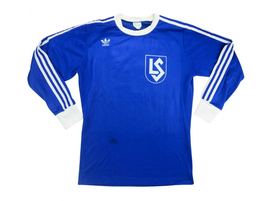 Adidas 1978 79 Lausanne Sports Match Worn Uefa Cup Home Shirt