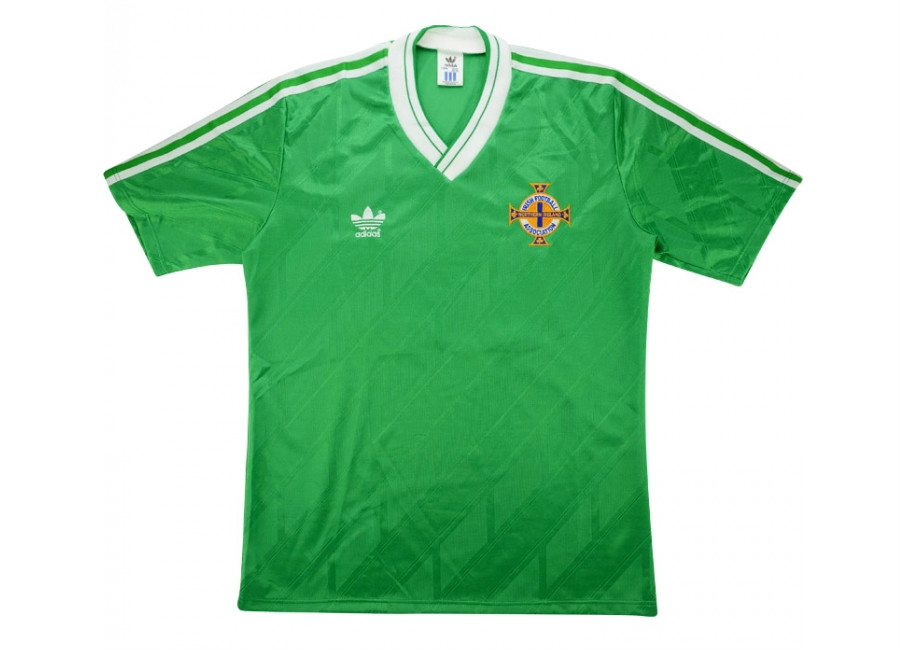 Adidas 1988 Northern Ireland Match Issue Home Shirt
