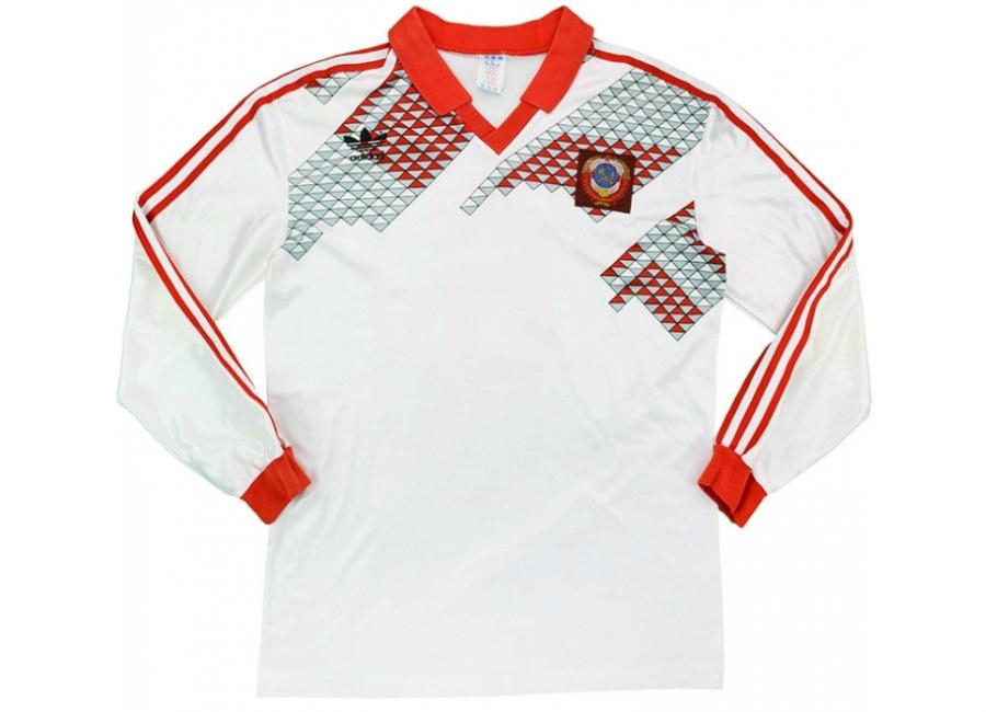 267f170a7d6 Adidas 1989-91 Soviet Union Match Issue Away Shirt | Vintage ...