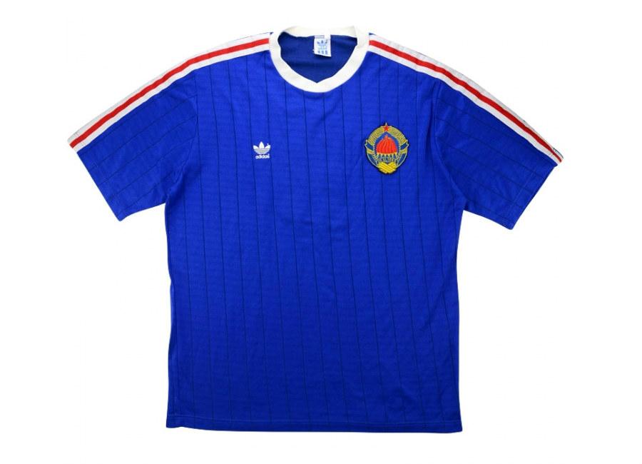 52cc1eff469 Adidas 1989-91 Yugoslavia U-21 Match Issue Home Shirt