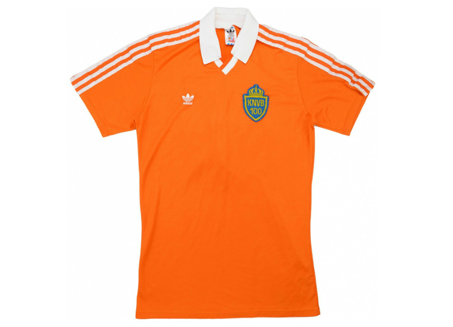 Adidas 1989 Holland Match Issue Centenary Home Shirt