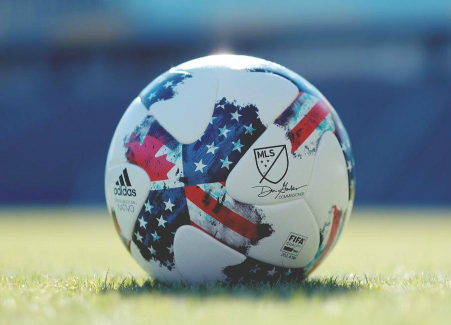 Adidas 2017 Mls Nativo Match Ball White Poppy Satellite