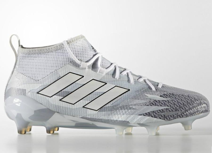 Adidas Ace 17 1 Primeknit Firm Ground Boots Camouflage Clear Grey Footwear White Core Black