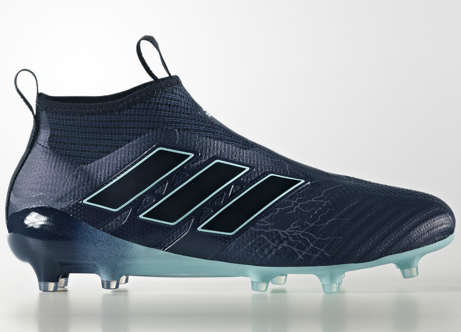 695602f9a Adidas Ace 17 Purecontrol Fg Thunder Storm Legend Ink Core Black Energy Aqua