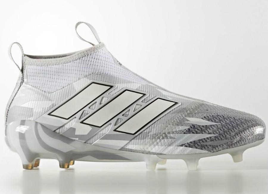 Adidas Ace 17 Purecontrol Firm Ground Boots Camouflage Clear Grey Footwear White Core Black