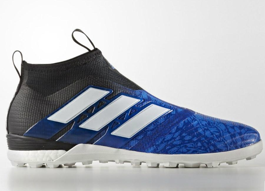 Adidas Ace Tango 17 Purecontrol Ucl Dragon Turf Boots Blue Crystal White Core Black