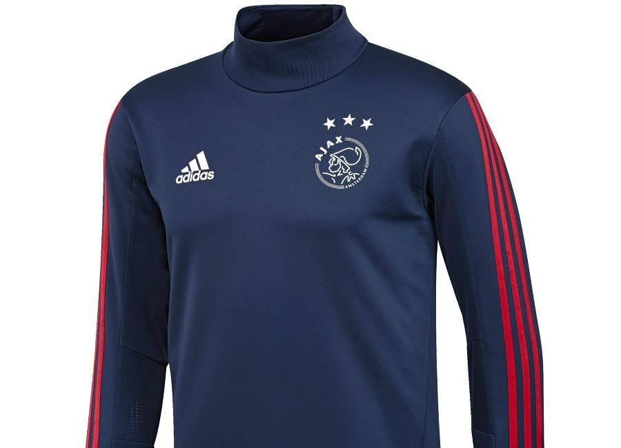 cdf1c3292d4 Adidas Ajax 17/18 Training Top - Dark Blue / Bold Red | Equipment ...